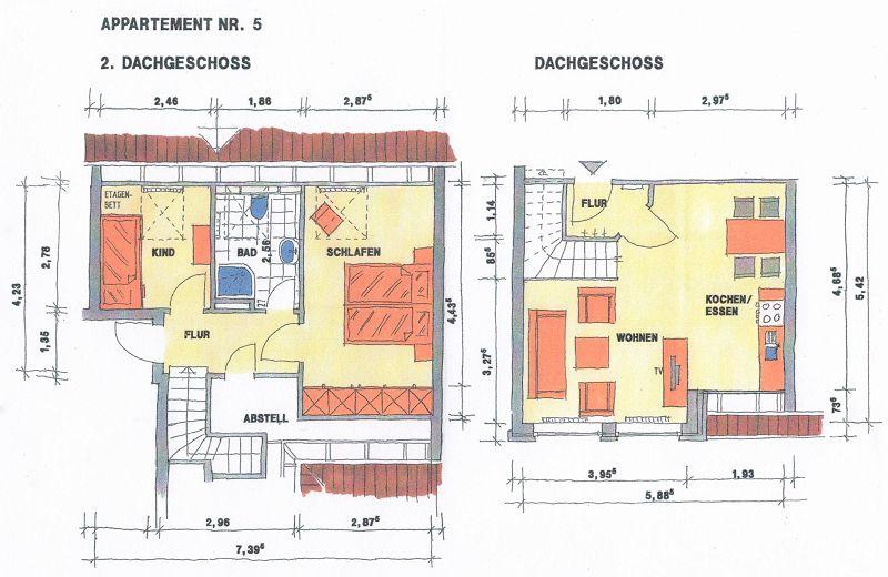 Apartement Grundriss 5
