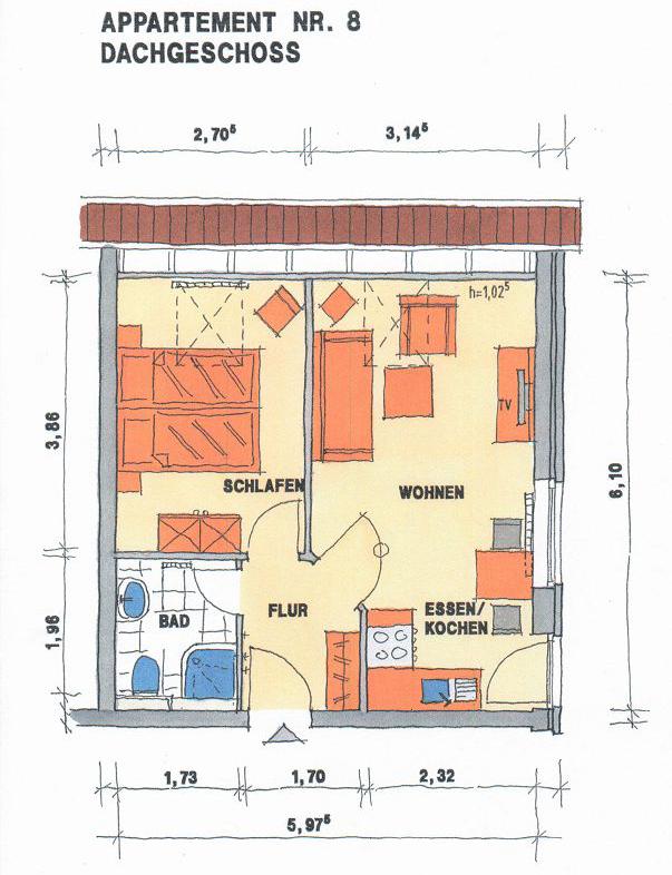 Appartement 8 grundriss